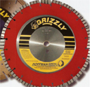 All purpose diamond saw blades